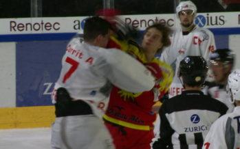 Hockey: le HC Sierre garde la tête de la MySports League