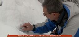 Fort danger d'avalanche ce week-end en Valais