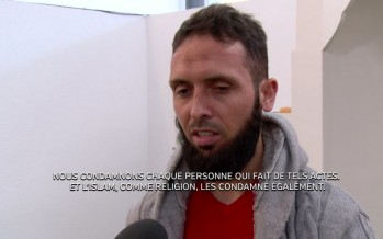 Tuerie à Charlie Hebdo: réactions recueillies au Centre Islamique El-Falah et à l'évêché de Sion