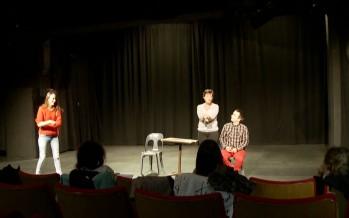 Formation: les jeunes comédiens ont leur Matu option théâtre