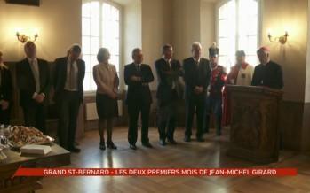 Jean-Michel Girard reçoit la bénédiction abbatiale
