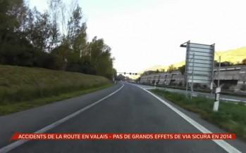 Accidents de la route en 2014: peu d'effet de Via Sicura