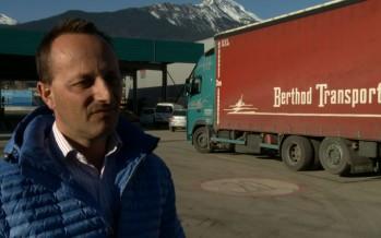 Votations du 8 mars: facture salée pour les transporteurs routiers du Valais