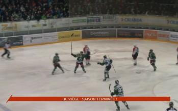 Hockey: saison terminée pour le HC Viège