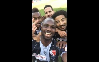"""FC Sion: un """"selfie"""" sur un rythme d'enfer"""