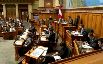 Lex Weber: zoom sur les débats du jour à Berne