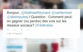 Fédérales 2015: tous les coups sont permis sur les réseaux sociaux