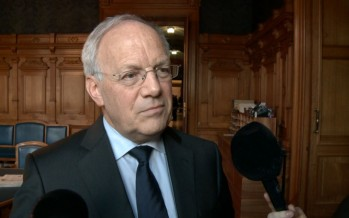 «La situation à Collombey-Muraz est délicate», dit Johann Schneider-Ammann