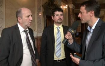 Lex Weber: réactions de Yannick Buttet et Jean-René Germanier