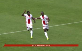 Le FC Sion s'est imposé face au FC Aarau grâce au but de Konaté