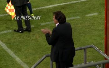Finale de la Coupe de Suisse: à propos du Président