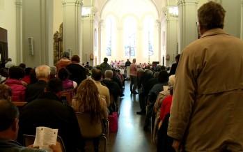 Lundi de Pentecôte: des centaines de pèlerins à Saint-Maurice