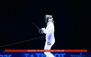 Championnat d'Europe d'escrime: Tiffany Géroudet déçue
