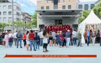 Martigny a swingué sur des airs de Gospel