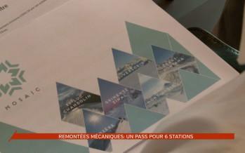 Remontées mécaniques: un pass pour six stations
