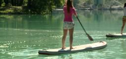 Stand up paddle: à la recherche de l'équilibre