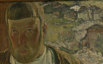 Visite de l'exposition «Présences, Édouard Vallet et Vercorin»