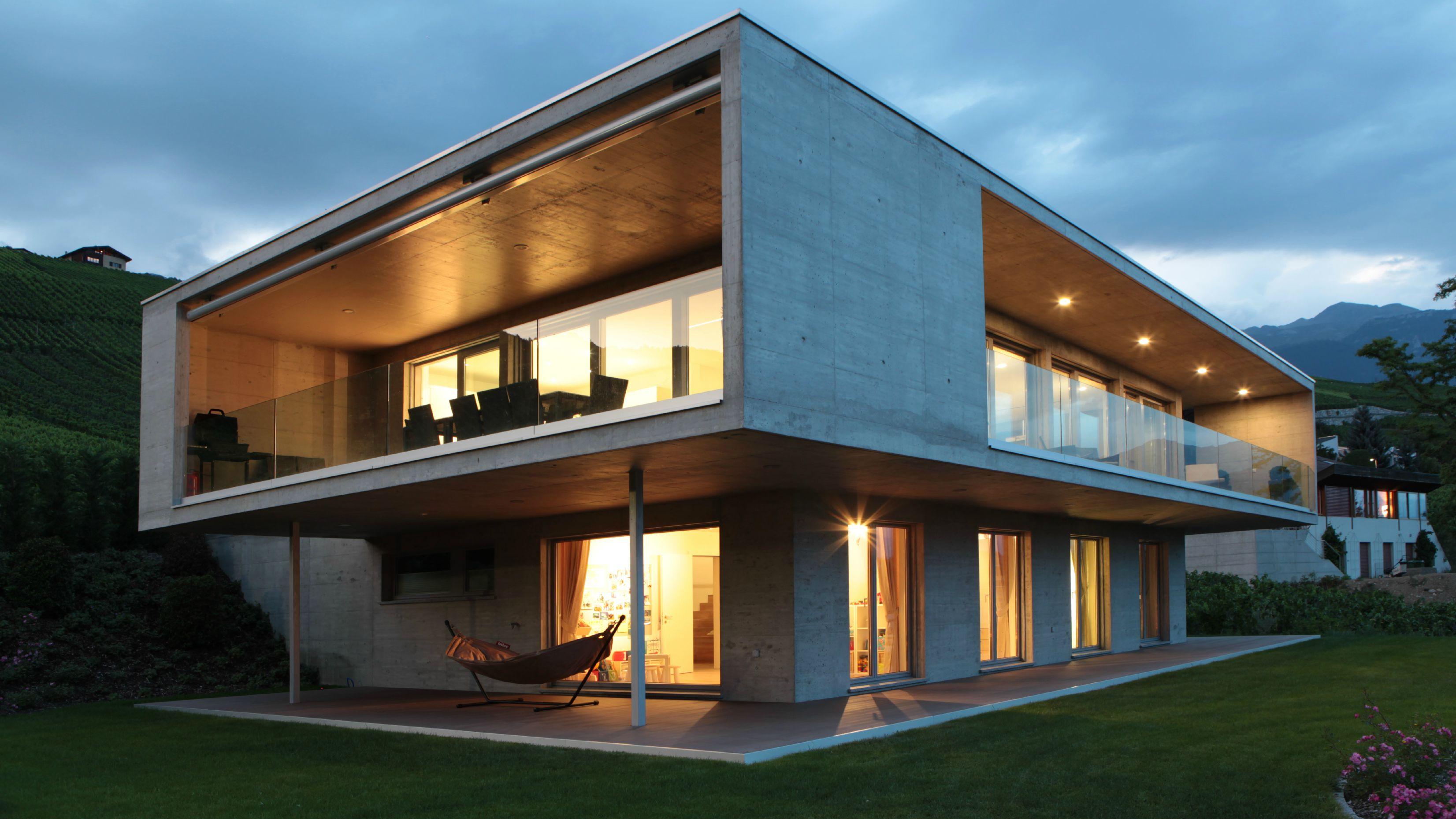 Maison architecte suisse maison moderne for Architecture suisse