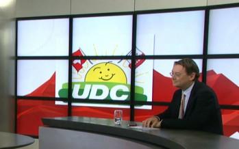 """""""Nous ne voulons pas d'une adhésion à l'UE par la bande"""", dit l'UDC Franz Ruppen"""
