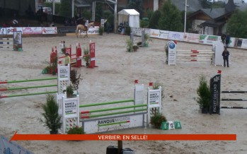 Hippisme: en selle pour le 17e jumping international à Verbier