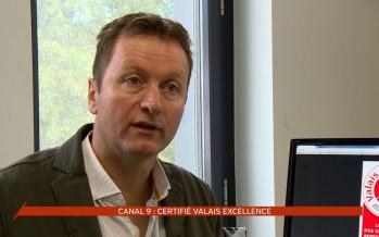 Canal9 certifié Valais Excellence