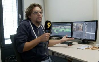 Les métiers de la télé: Vincent Forclaz, monteur à Canal9
