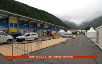 Foire du Valais: une édition 2015 très rock