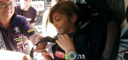 Rallye: ils roulent contre la mucoviscidose