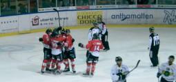 Hockey: le HC Red Ice reste maître chez lui