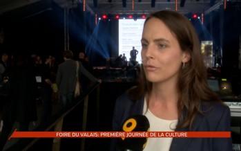 Journée de la culture: une première à la Foire du Valais