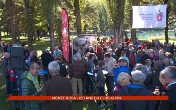 La section Monte Rosa du Club alpin a fêté ses 150 ans