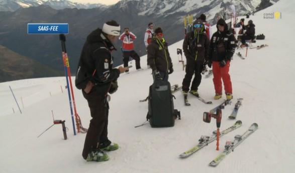 Ski alpin: à la rencontre des techniciens valaisans