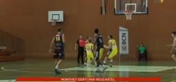 Coupe de suisse de basket-ball: Monthey sorti par Neuchâtel