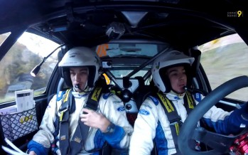 Rallye international du Valais: deux frangins dans le cockpit