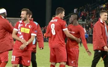 Europa League: le FC Sion récolte un point à la dernière seconde