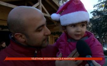 20'000 francs récoltés pour le Téléthon à Martigny