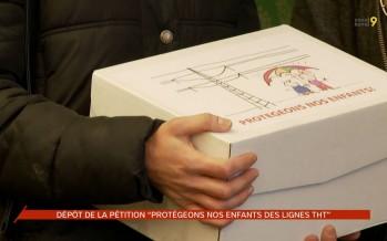 Lignes THT: une pétition avec plus de 7500 signatures a été déposée