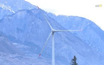 Charrat: la commune relance le projet avec deux nouvelles éoliennes