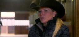 """""""Avoir un ranch, c'était notre rêve"""", dit Sandra Jordan. Visite à Turin"""