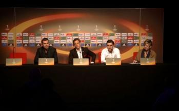Europa League: le FC Sion défie les Portugais du SC Braga ce jeudi soir à Tourbillon. Interviews à la veille du match