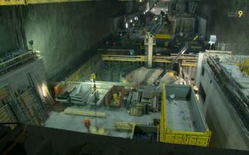 Visite au cœur du méga chantier de Nant de Drance