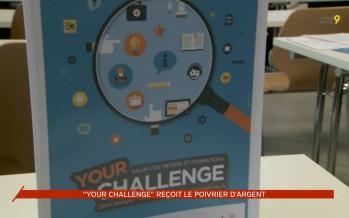 """""""Your Challenge"""" reçoit le poivrier d'argent"""