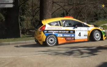 Rallye du Pays du Gier: Sébastien Carron remporte la première manche de la saison