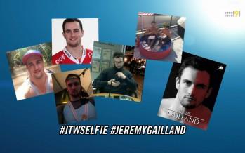 L'Interview Selfie: avec le hockeyeur du HC Red Ice Jérémy Gailland