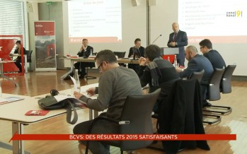 Résultats 2015 satisfaisants pour la Banque cantonale du Valais