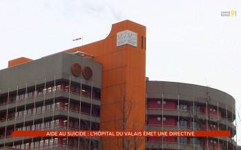 Aide au suicide: l'Hôpital du Valais émet une directive