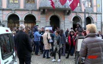 Ligne à très haute tension Chamoson-Chippis: les citoyens devant le Parlement