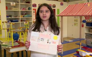 Dessine-moi Martigny : la parole aux enfants avec Alessia, 11 ans
