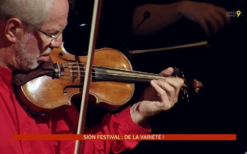 De la variété (et une expo) pour le Sion Festival 2016