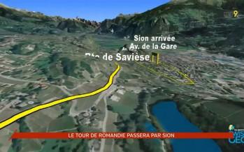 Cyclisme: le Tour de Romandie à Sion